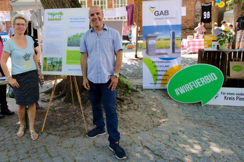 Pascal Girardot Birgit Zorn Markt der Nachhaltigkeit
