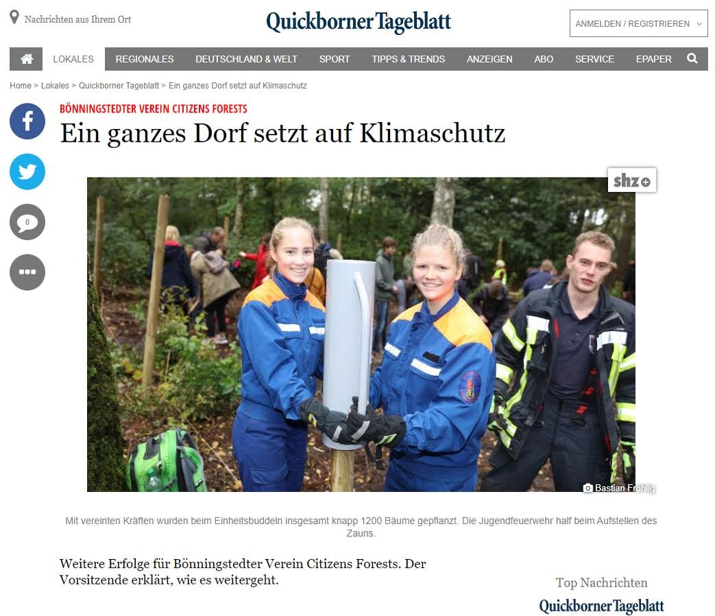Quickborner Tageblatt vom 11102019