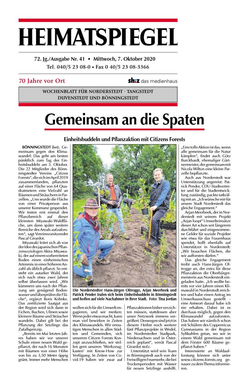 Heimatspiegel vom 07.10.2020