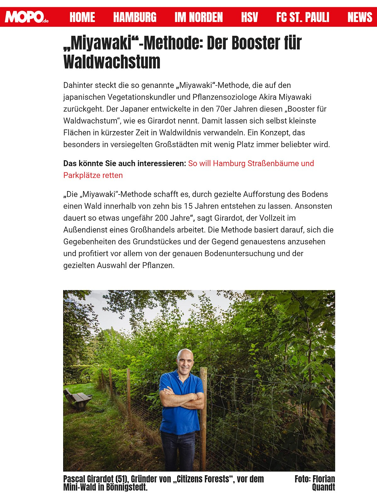 Hamburger Morgenpost vom 16.09.2021